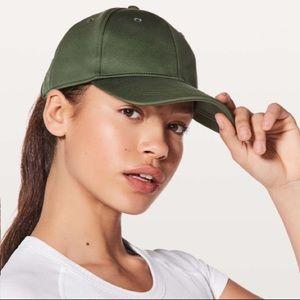 NWOT Lululemon Baller Hat - Barracks Green